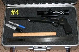 Thompson Center Encore 7mm-08 Pistol Case Outline