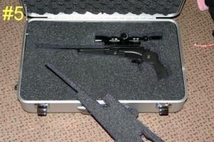 Thompson Center Encore 7mm-08 Pistol Case Padding Cutout
